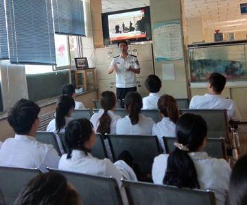 酒泉分中心为嘉峪关市第一人民医院开展为期三周的消防安全知识培训