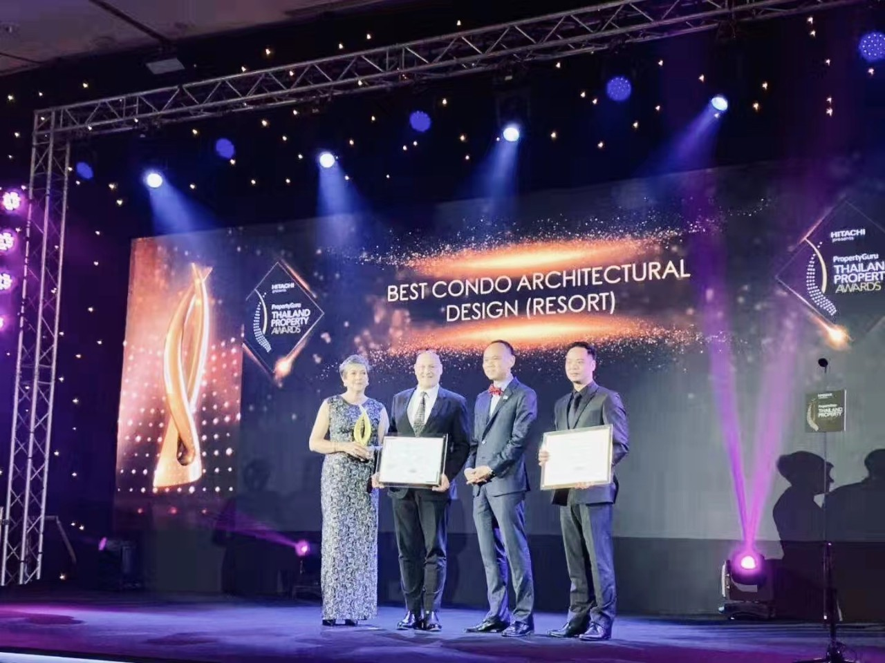 UTOPIA获普吉岛最佳公寓开发商大奖!连续两年获得泰国房地产大师奖!