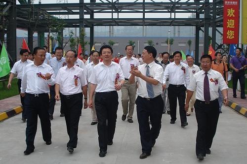 """集团新能源""""航母""""起航——永祥多晶硅隆重举行一期项目投产暨二期工程奠基典礼"""
