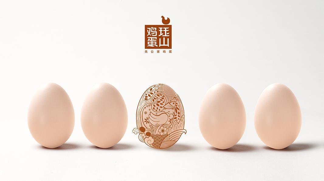 珏山鸡蛋︱品牌策划︱LOGO设计︱包装设计︱VI设计