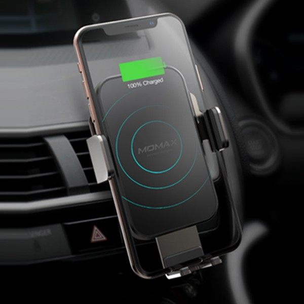 Q. MOUNT SMART智能感应无线充电车载支架套装