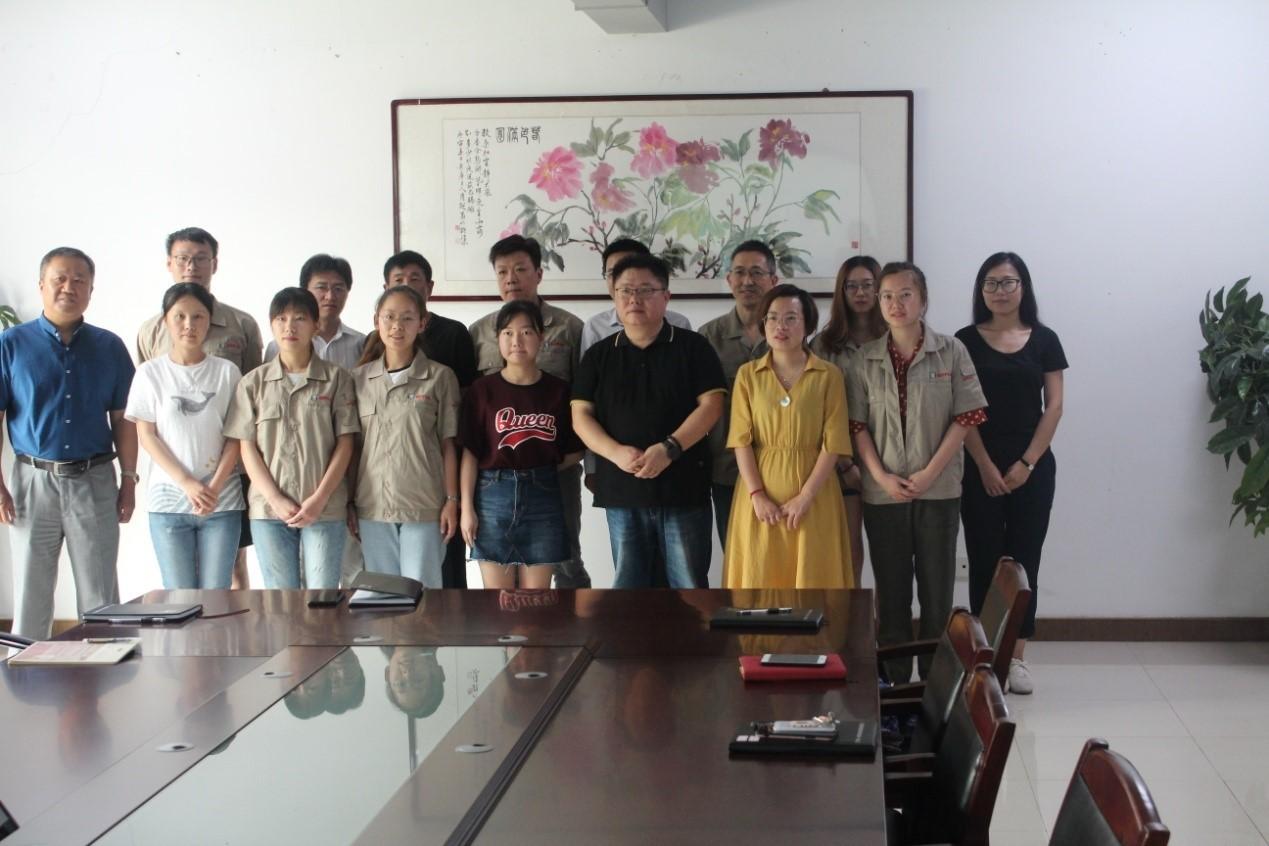 2019年度新员工培训会在滨江厂区举行