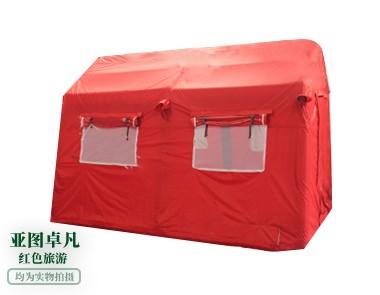 红色旅游充气帐篷
