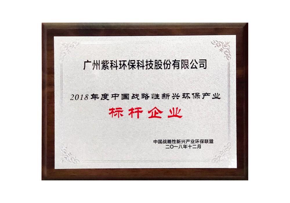 2018年度中国战略性新兴贝博备用网址产业标杆企业