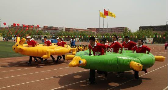 凝聚力拓展训练项目:龟兔赛跑