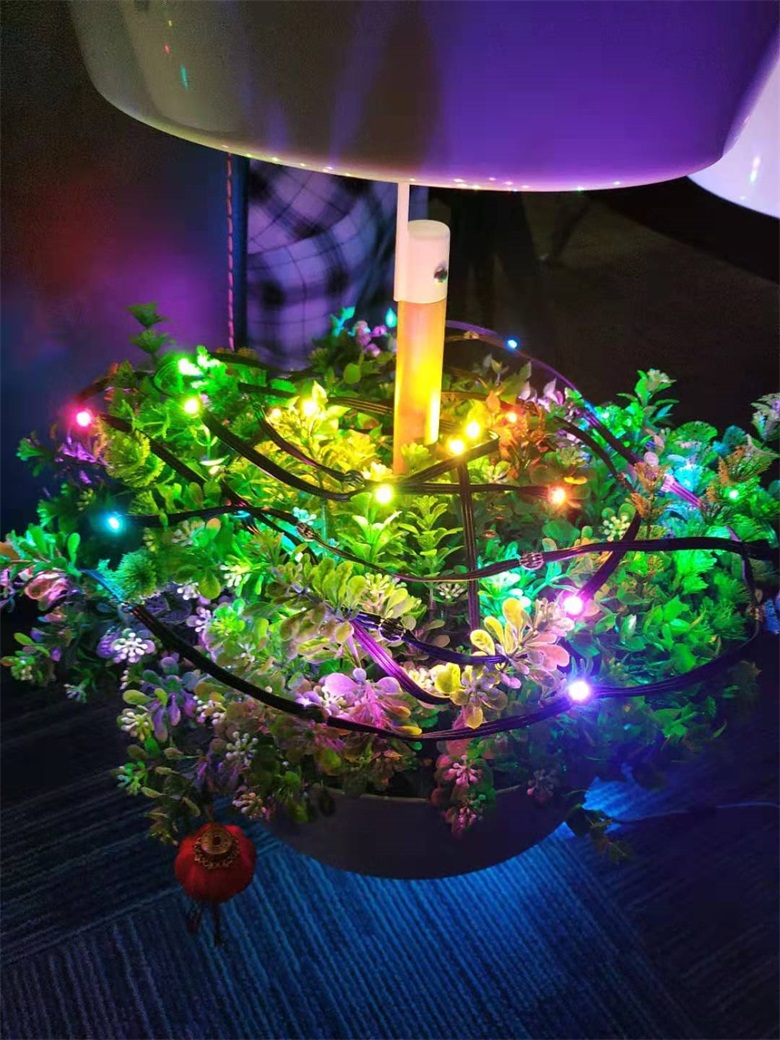 Decorative effect of magic lamp pixel lamp