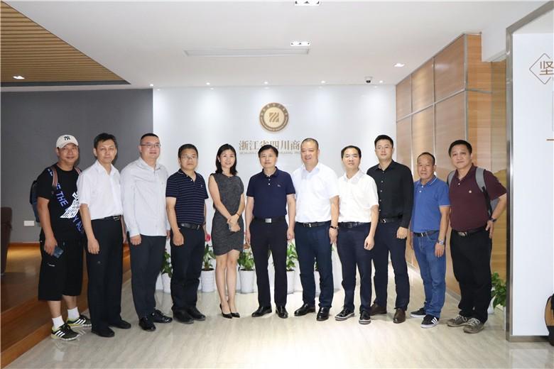 【来访】新希望集团华东区域副总裁李佳率团队到访亚虎下载app