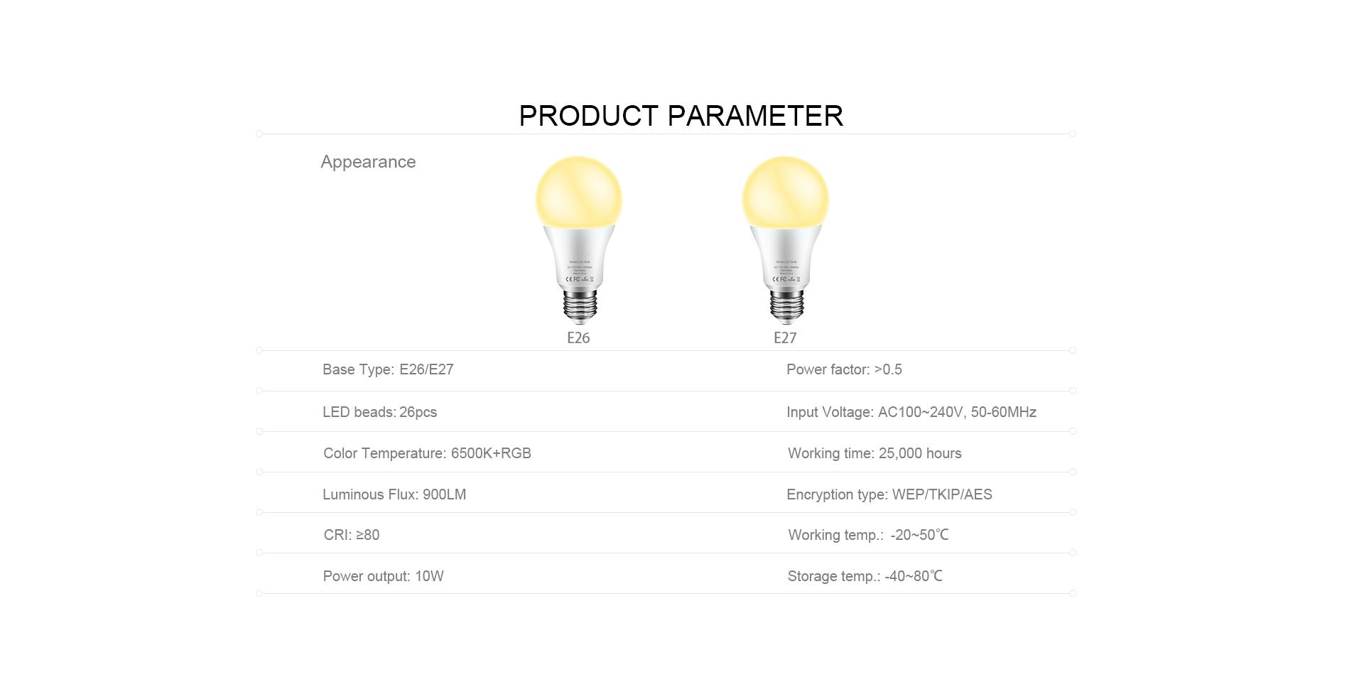 smart bulb wifi