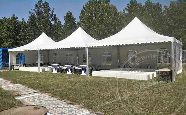 篷房租赁如何保证施工质量和材料质量