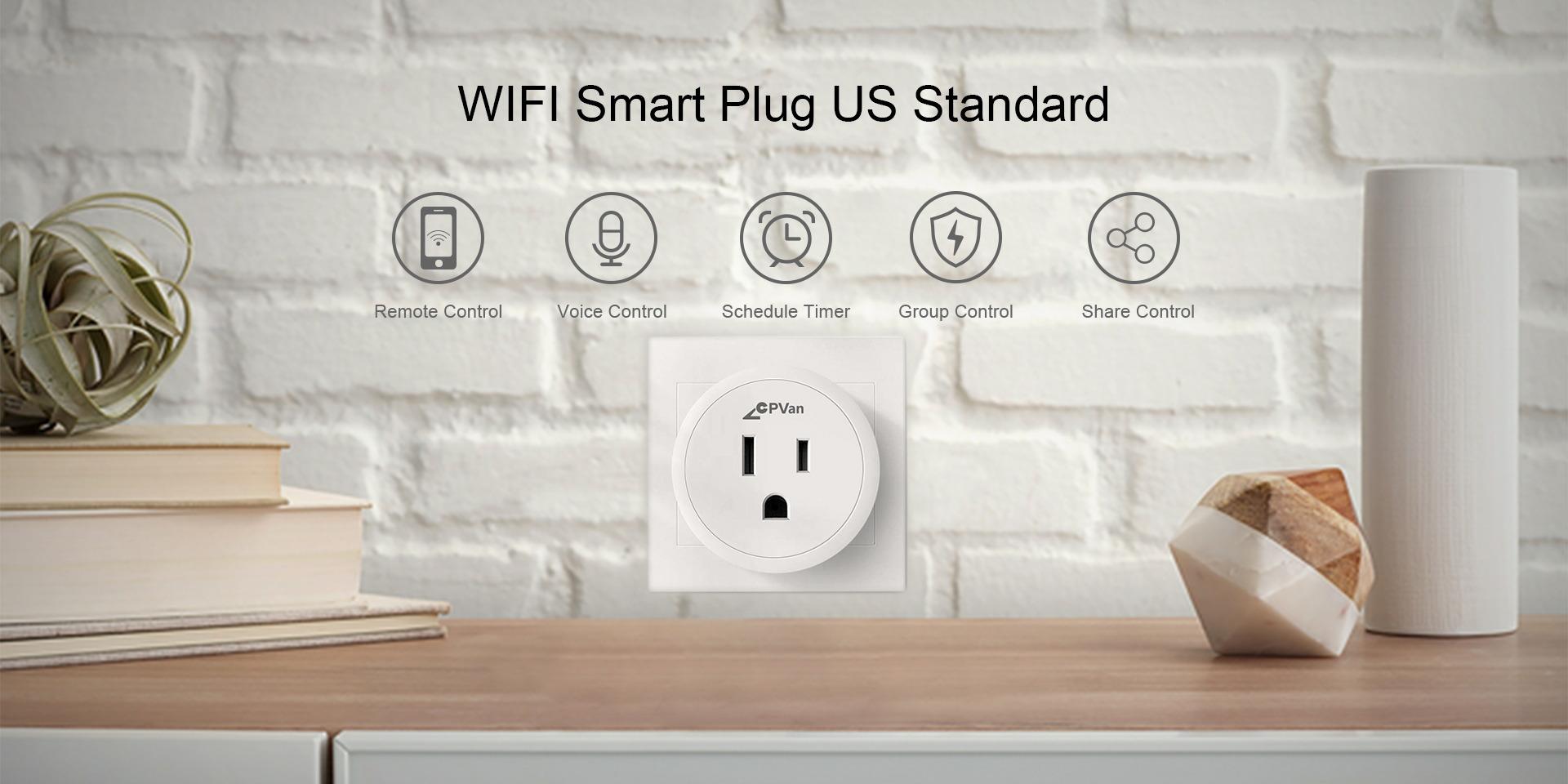 Mini US Smart Plug