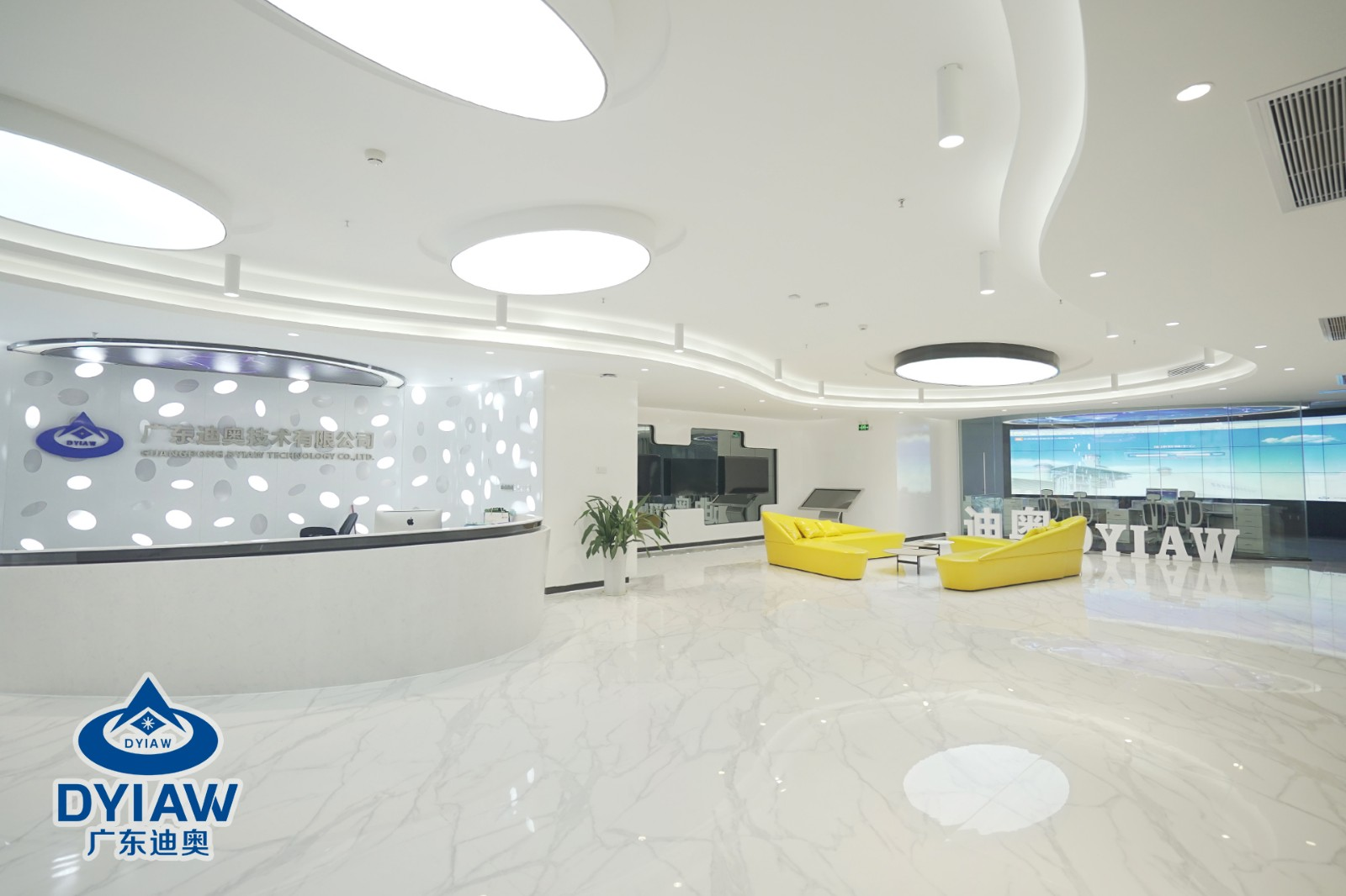 探秘科技感满满的广东龙8国际pt技术有限公司新办公室