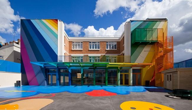 彩虹村幼儿园设计效果图