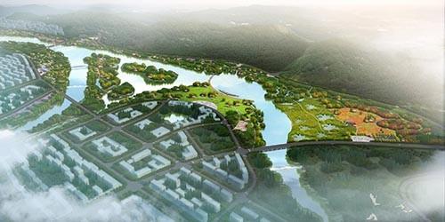 阜平县阜东生态湿地建设项目规划设计