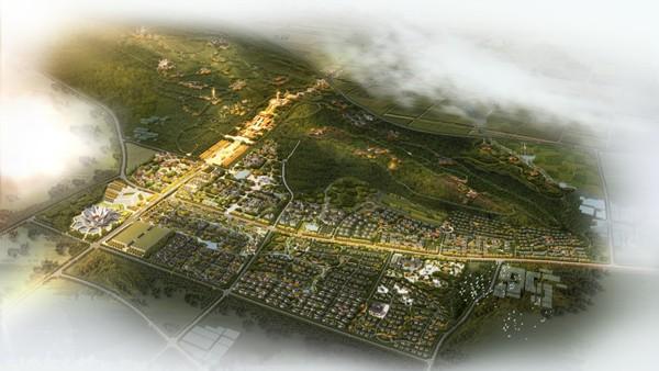 平顶山大香山文化亿博团队全天实时计划区总体规划