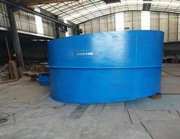 DN2400刚性防水套管生产现场