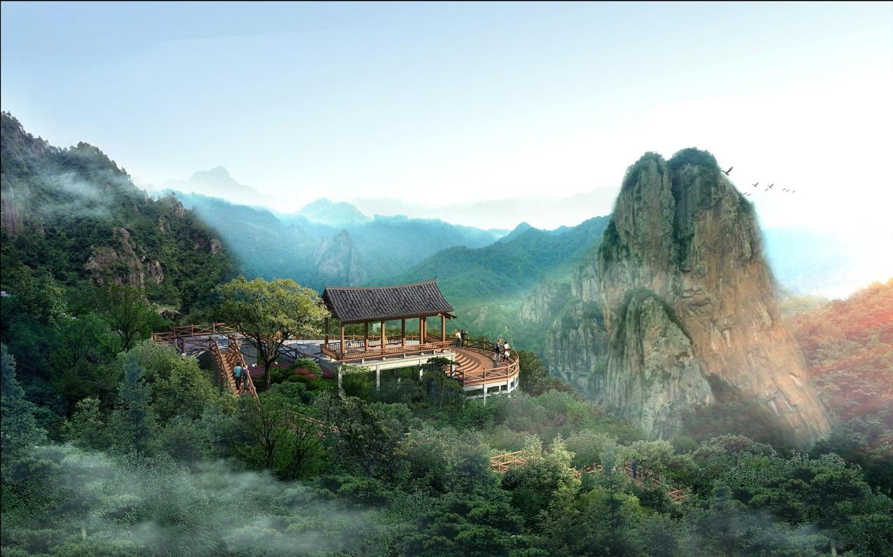 楠溪江国家级风景名胜区石桅岩景区创建国家5A级亿博团队全天实时计划景区规划设计