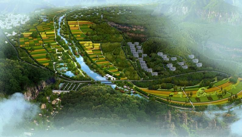 顺平县杏塘沟亿博团队全天实时计划度假区总体规划
