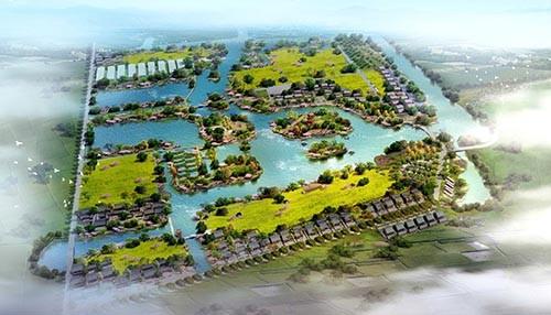 海安市里下河金三角亿博团队全天实时计划度假区概念性规划