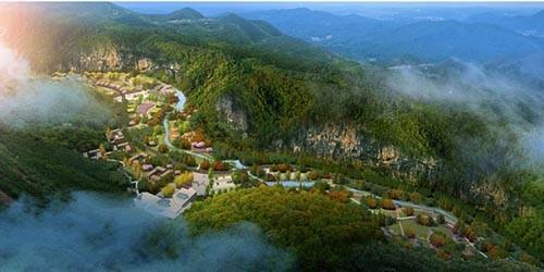 河北省云花溪谷亿博团队全天实时计划度假区总体规划