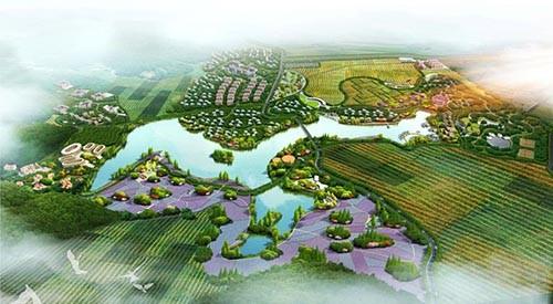 """""""东风韵""""特色小镇策划及概念性规划方案"""