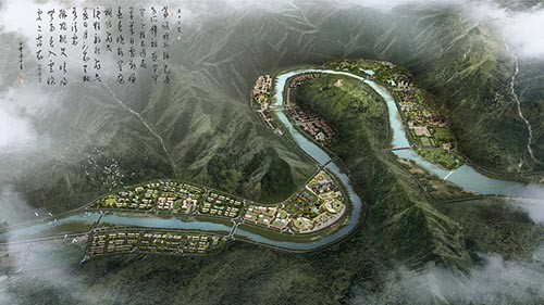 卓尼县生态文化产业园控规及城市设计
