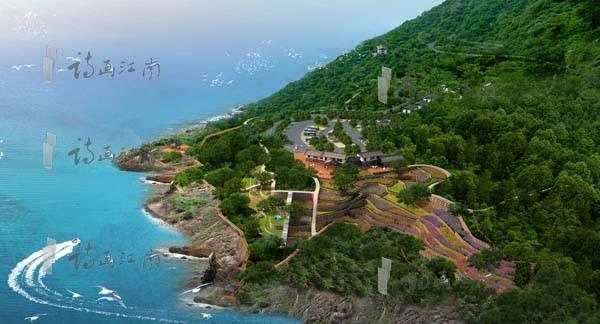 苍南黄金海岸线自驾车营地修建性规划设计