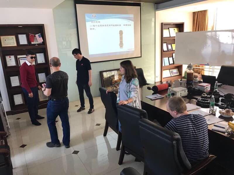 20170412-俄罗斯客户来访