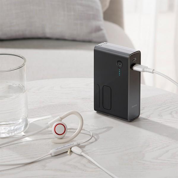 倍思 能量堆二合一充电器移动电源