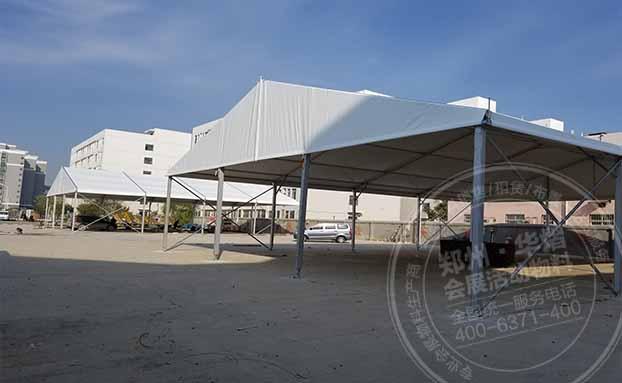 郑州华熠篷房租赁-展览篷房可以定做吗?