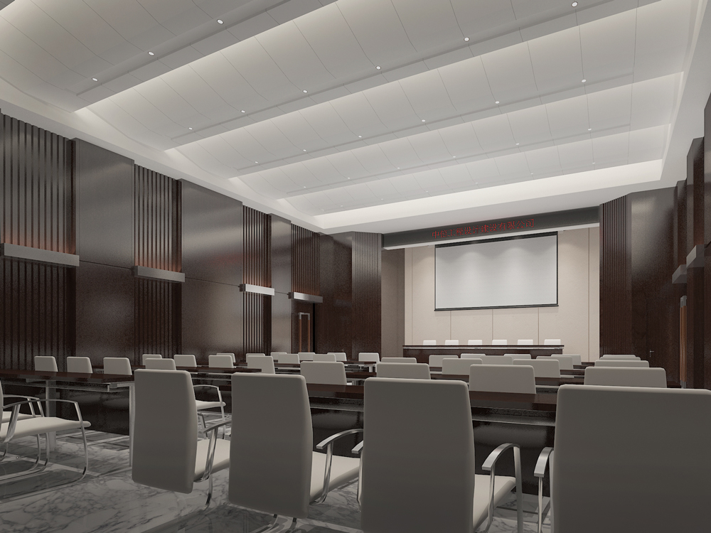 中信辦公樓效果圖裝修設計方案