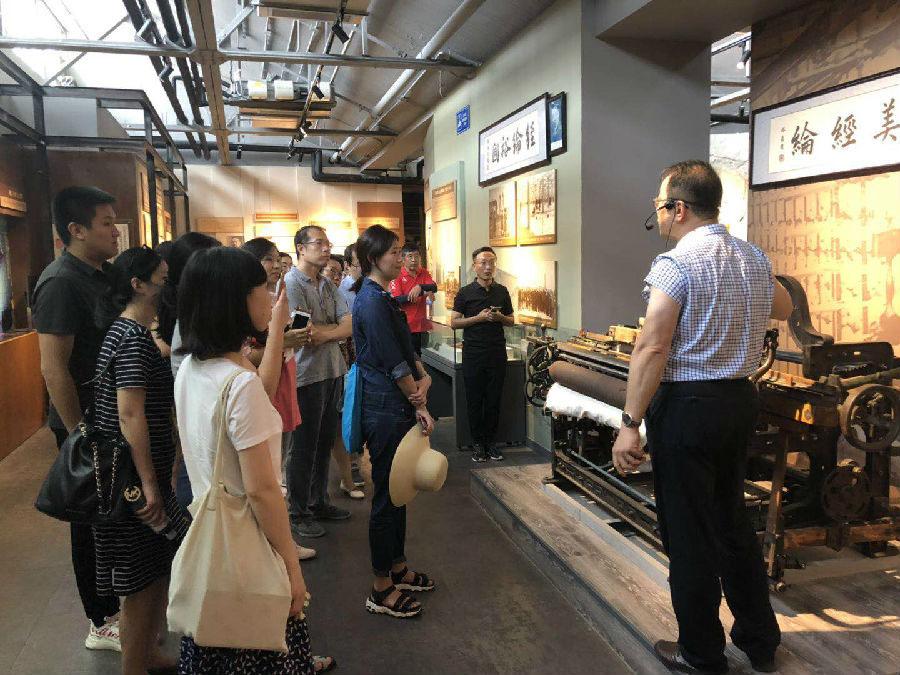 我院赴青岛市国家级工业遗产——国棉五厂更新改造、四方机车厂项目考察