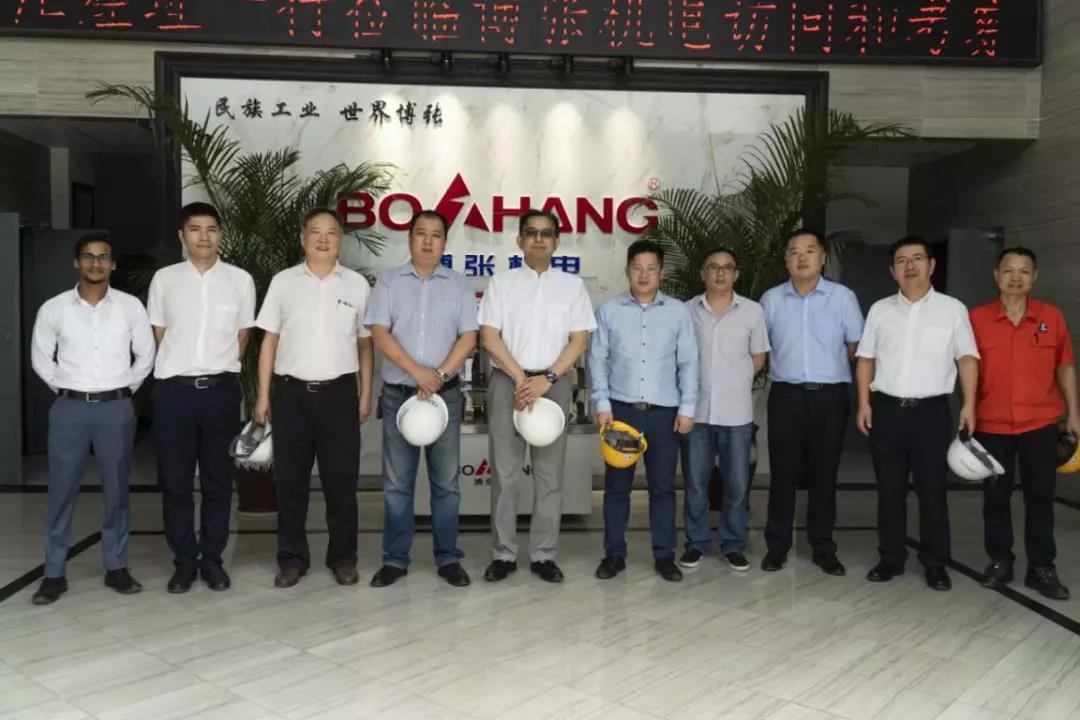 三井物产与博张机电深化海外市场开发合作