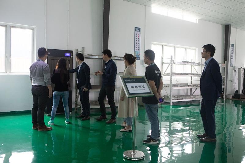 北京自如赴达安盛总部生产基地参观考察
