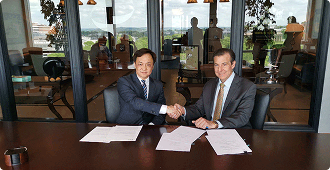 Apr. 2019  Strategic cooperation was achieved with Cumberland Pharmaceuticals