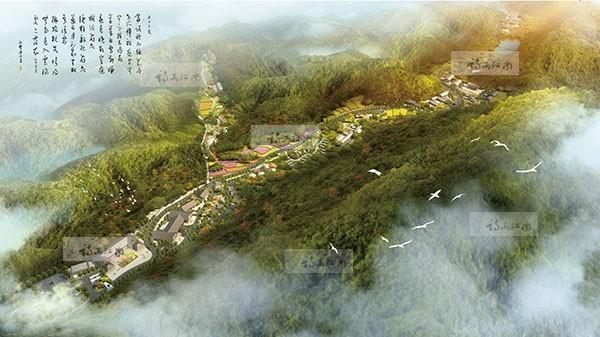 唐县秀水峪景区总体规划