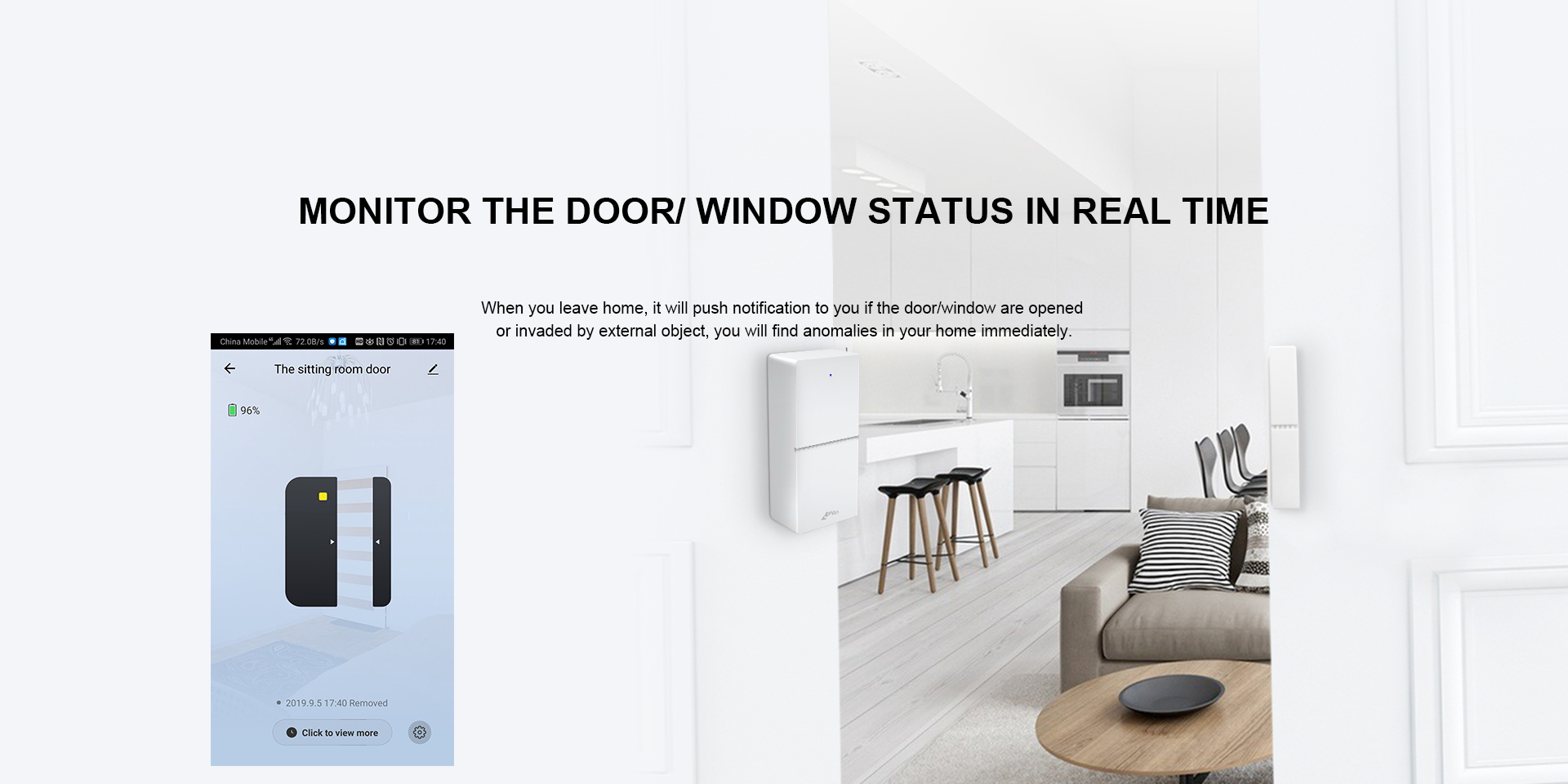 WIFI Door& Window Sensor