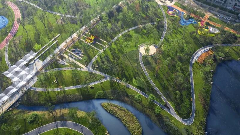 沙河源公园景观设计