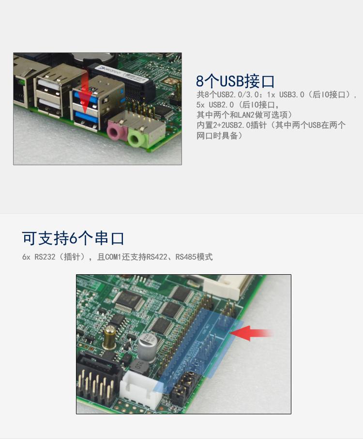 EP-4120低功耗嵌入式专用主板