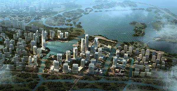 迪荡新城二期核心区块城市设计