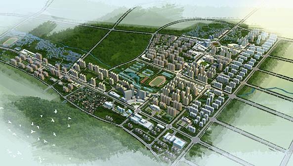 花垣县城北新城概念性城市设计