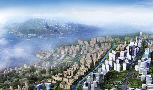 杭州市临平新城核心区城市规划