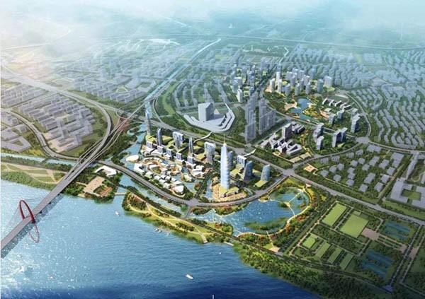 """杭州之江新城""""3+1""""产业体系发展实施纲要"""