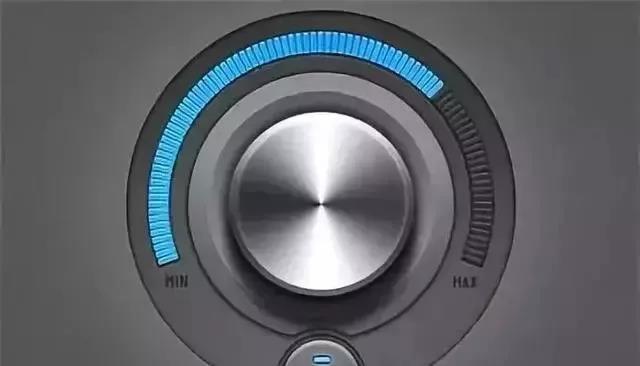 为啥功放上的音量控制的dB数会出现负的?