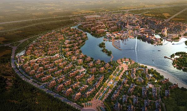肇东市东发生态亿博团队全天实时计划名镇规划设计