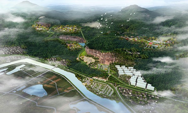 它山后窟亿博团队全天实时计划区总体规划暨重点项目详细设计