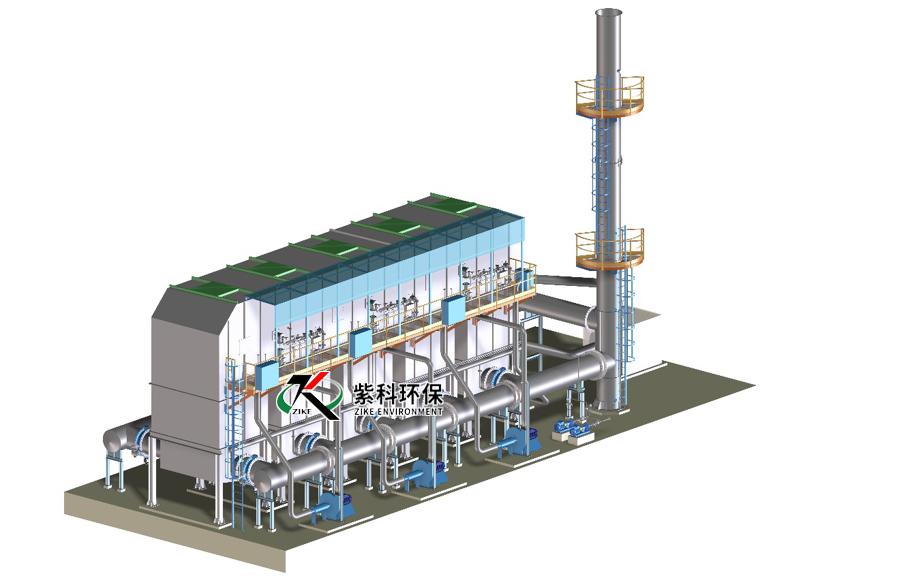 一体式RTO废气治理装置