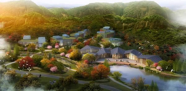 溪山胜境亿博团队全天实时计划度假区总体规划