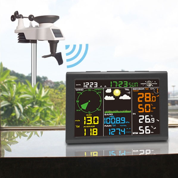 FT-0835 Color Display Professional Weather Station