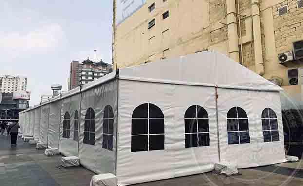 郑州华熠专业提供篷房租赁服务