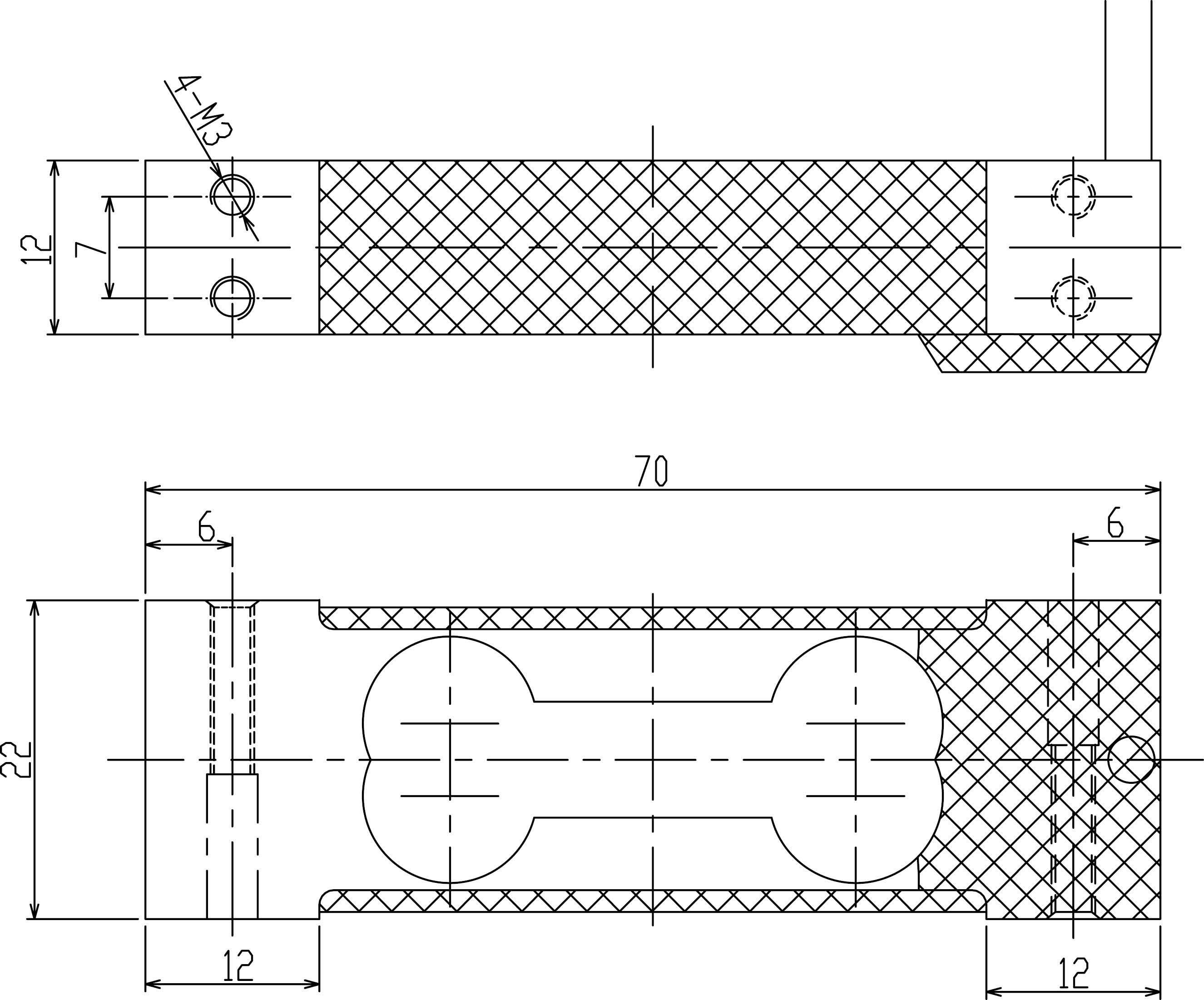 LC7012单点式称重传感器 (型号:LC7012)